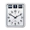 Calendar Wallclock(BQ12A)-white