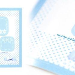 polaroid film skin - pastel (5pcs.)