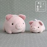 (DIY KIT)꿀꿀 돼지가족