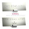 V-STEEL 리얼 스틸 주차번호판(익스큐브)