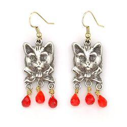 brilliant cat 귀걸이