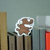 snowcat-모양그대로 메모잇 B형(beaver)