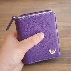 hey jude mini wallet - purple
