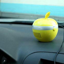 애플 USB 공기청정기 - 옐로우+전용시거잭
