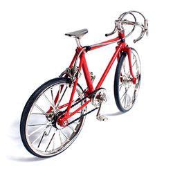 레이싱 자전거 미니어쳐 - 레드