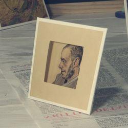 명화 스탠드카드-고흐 요젭 블록의 초상화