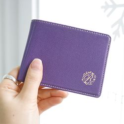 classical money pocket - purple
