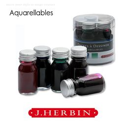 J.Herbin Aquarellables (수채화) 드로잉 5입 세트