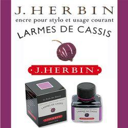 J.Herbin Larmes De Cassis(No.78)