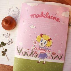 슈가도기 A5노트 - Madeleine