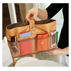 (L size) Bag in bag - yellow ocher