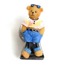 리틀베어 마그넷 메모홀더 - 여행하는 곰돌이
