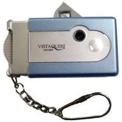 비스타퀘스트 디지털 토이카메라 VQ1005 블루 (SD메모리사용)