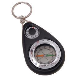 Munkees 3154 나침반 온도계 열쇠고리