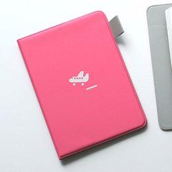 Passport Cover - hot pink