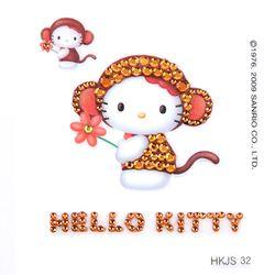 헬로 키티 12간지 스티커-원숭이띠