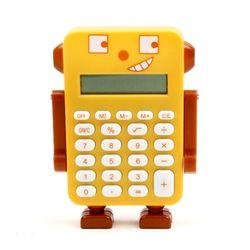 로봇 펫 계산기 - 브라운강아지