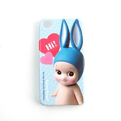 [2만원↑사은품증정] SonnyAngel ProtectionCase for iPhone4/4S - Rabbit(LightBlue)