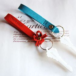Episode Strap-keyring SET (red blue)