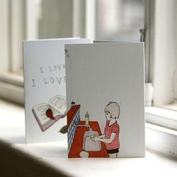 LUCY Card - I love you