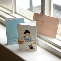 LUCY Card - Chocolat cake
