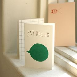 LUCY Card - say hello