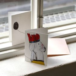 LUCY Card - indian rabbit