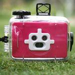방수 3렌즈 카메라-핑크