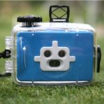방수 3렌즈 카메라-블루