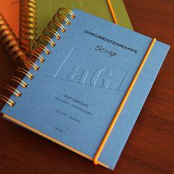 a6 - Document holder (blue gray)