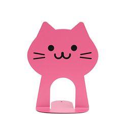 네코 북엔드 - Hot pink