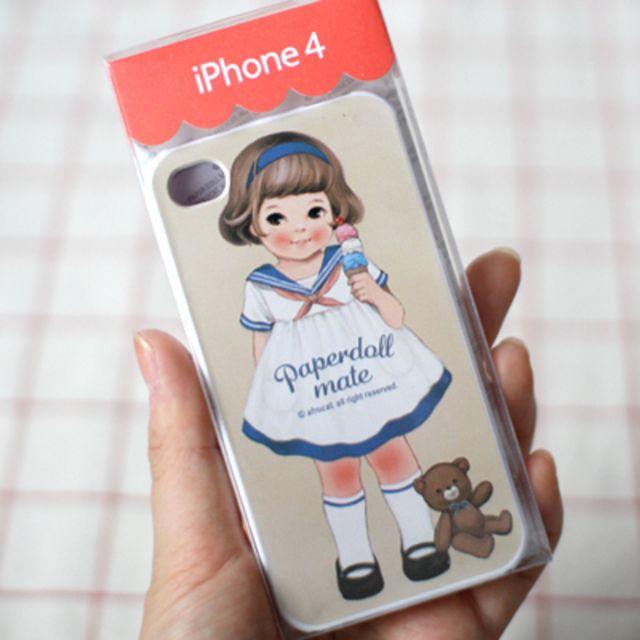 可爱娃娃iphone 4手机壳