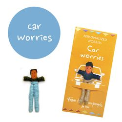 꼬마 전문가 걱정인형 Car Worries