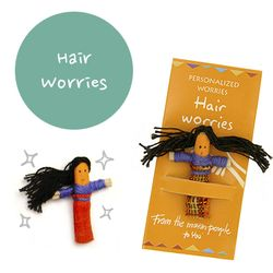 꼬마 전문가 걱정인형 Hair Worries