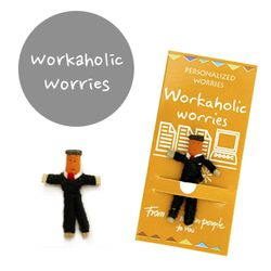 꼬마 전문가 걱정인형 Workaholic Worries
