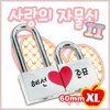 남산 커플 사랑의 자물쇠 II (XL)