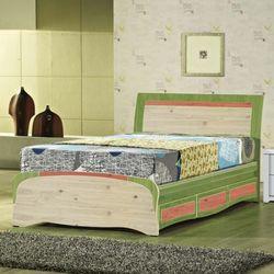 [젠키즈침대] 알버트-2 통깔판 서랍형 슈퍼싱글 침대 매트리스 (착불) 인기상품