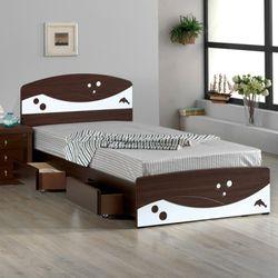 [젠키즈침대] 돌핀 서랍형 싱글 침대 매트리스 (착불) 인기상품