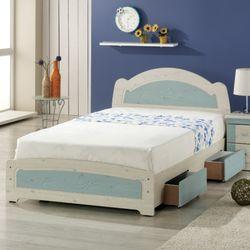 [젠키즈침대] 리리안 서랍형 슈퍼싱글 침대 매트리스 (착불) 인기상품