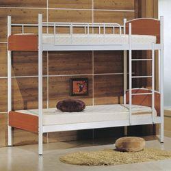 [젠키즈침대] 모리스 철재 이층 싱글 침대 매트리스 (착불) 인기상품