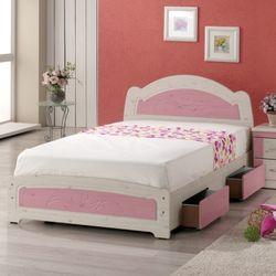 [젠키즈침대] 리리안 서랍형 싱글 침대 매트리스 (착불) 인기상품