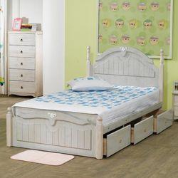 [젠키즈침대] 세인트 원목 통서랍 슈퍼싱글 침대 매트리스 (착불) 인기상품