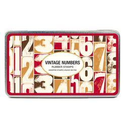 Cavallini 스탬프세트-Vintage Numbers(숫자)