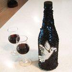 Wine bottle cover -E
