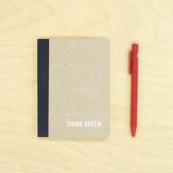 THINK GREEN NOTE 3-navy(S)