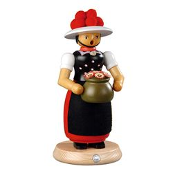 스모킹맨  꽃병을 든 여인 25Cm - 16641