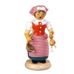 스모킹맨  요리하는 여인 24Cm - 16665