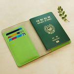 VG-E PASSPORT COVER-celery