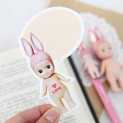 SPEECH BUBBLE CARD-rabbit