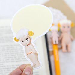 SPEECH BUBBLE CARD-sheep